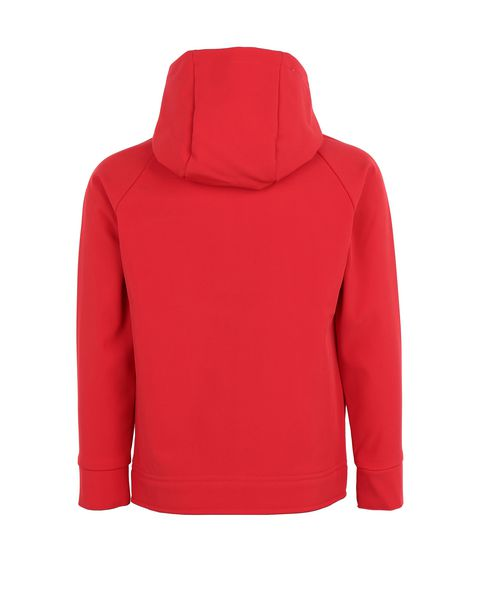 Children's hooded softshell jacket