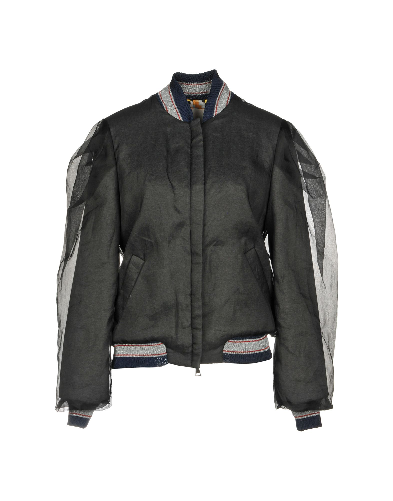 MIAHATAMI Bomber in Black