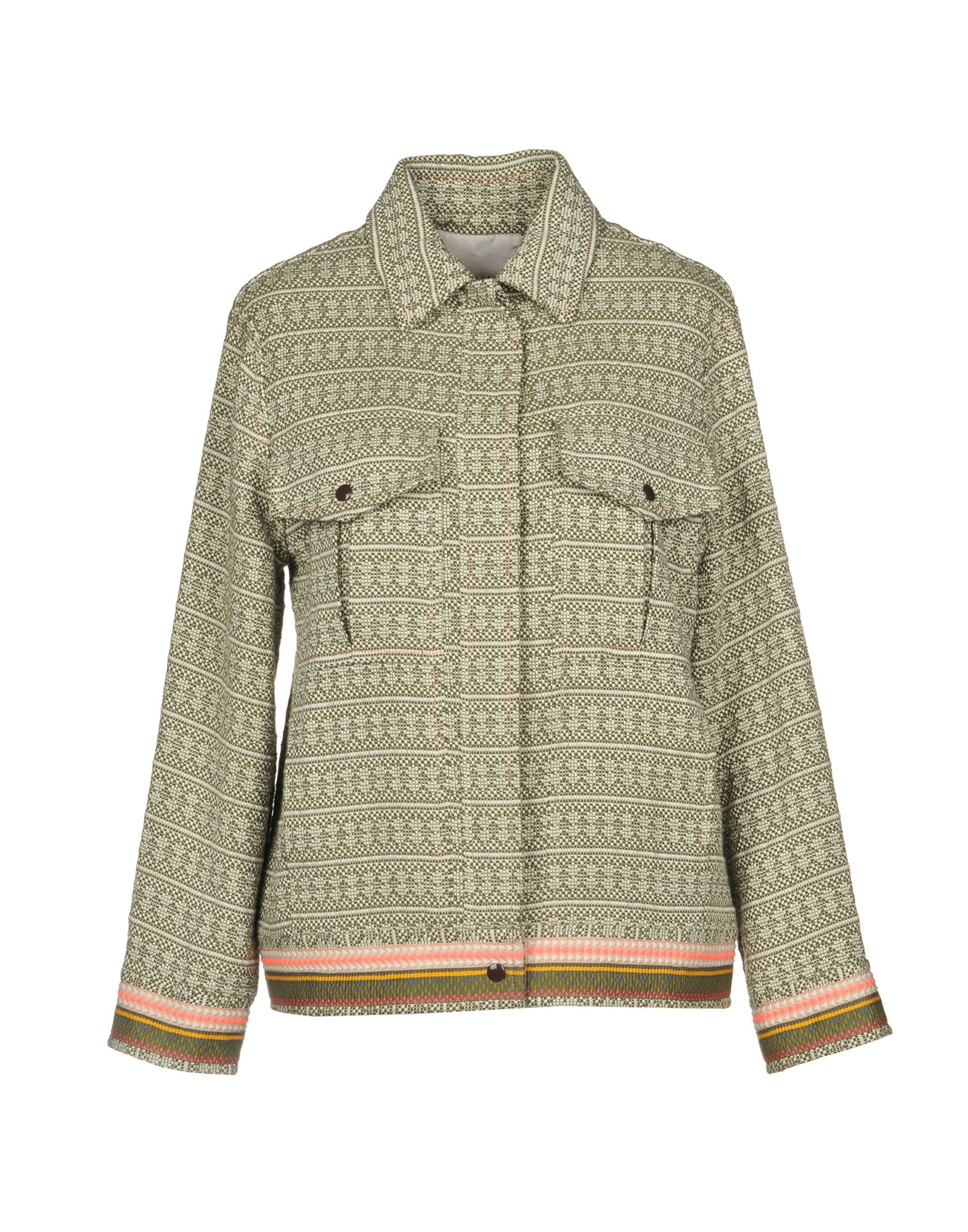 MIAHATAMI Jacket in Military Green