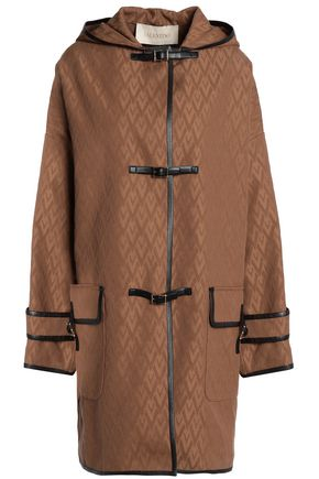VALENTINO Cotton-blend jacquard coat