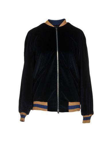 Фото - Женскую куртку ROBERTO COLLINA темно-синего цвета