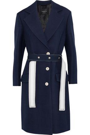 DEREK LAM Wool and silk-blend crepe jacket