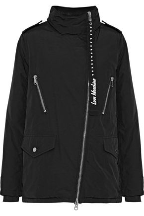 LOVE MOSCHINO Cotton-blend gabardine jacket