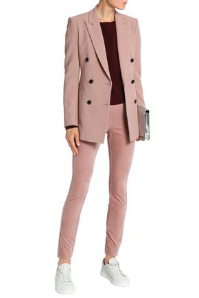 c37a0e80d9 Double-breasted crepe blazer | THEORY | Sale up to 70% off | THE OUTNET