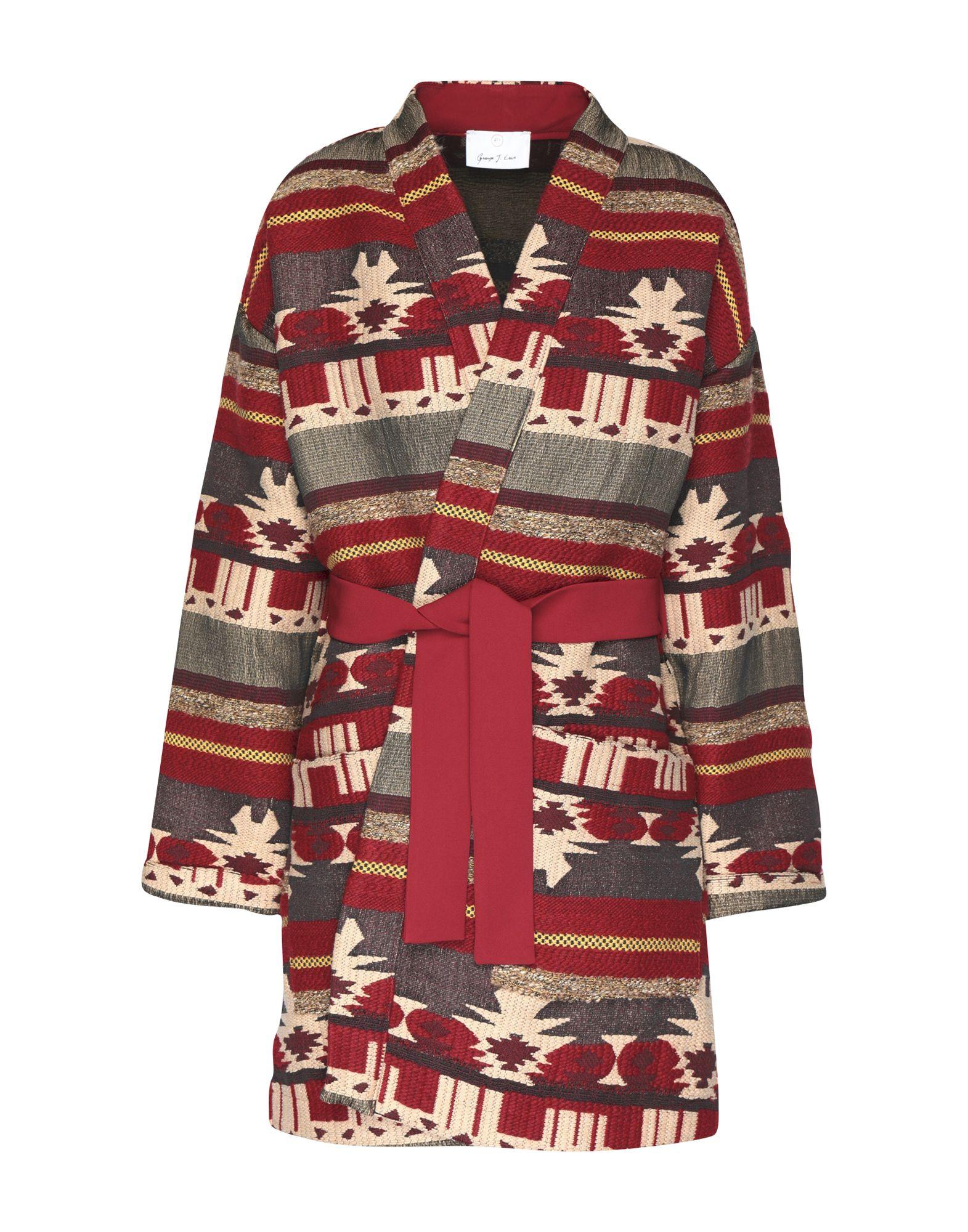 цена GEORGE J. LOVE Пальто онлайн в 2017 году