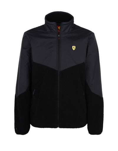 Scuderia Ferrari Online Store - Men's fleece jacket - Bombers & Track Jackets