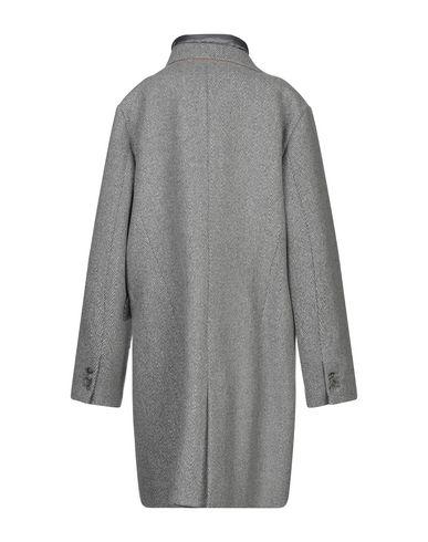 Фото 2 - Женское пальто или плащ JAN MAYEN серого цвета