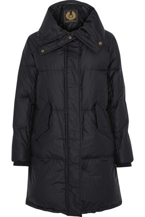 BELSTAFF Rowlock quilted cotton-blend down jacket