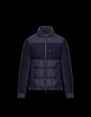 MONCLER BAPTIEU - Байкерские куртки - для-мужчин