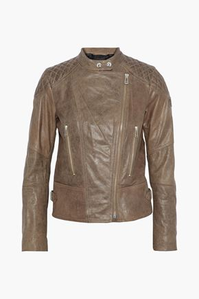 BELSTAFF Glyde leather biker jacket