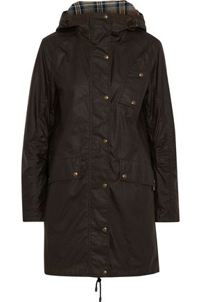 BELSTAFF Payne coated-cotton hooded coat