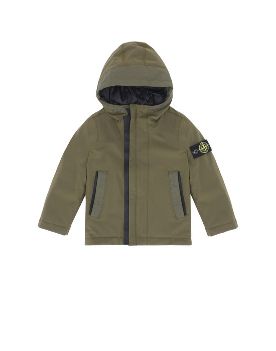 休闲夹克 40431 SOFT SHELL-R WITH PRIMALOFT® INSULATION TECHNOLOGY STONE ISLAND JUNIOR - 0