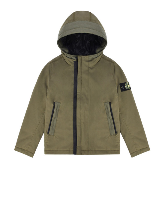 STONE ISLAND KIDS 休闲夹克 40431 SOFT SHELL-R WITH PRIMALOFT® INSULATION TECHNOLOGY