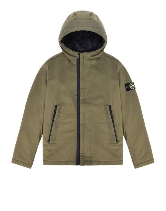 STONE ISLAND JUNIOR 休闲夹克 40431 SOFT SHELL-R WITH PRIMALOFT® INSULATION TECHNOLOGY