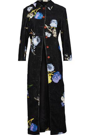 ACNE STUDIOS Okki floral-print cotton-corduroy jacket
