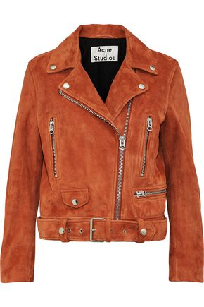 ACNE STUDIOS Suede biker jacket
