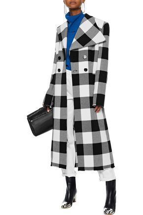 MARQUES' ALMEIDA Checked wool coat