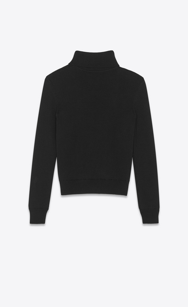 SAINT LAURENT Knitwear Tops Woman saint laurent wool turtleneck b_V4