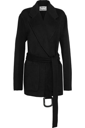 ACNE STUDIOS Lilo Doublé oversized wool and cashmere-coat