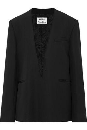 ACNE STUDIOS Wool-twill blazer
