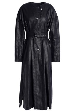 ISABEL MARANT Ivo linen trench coat