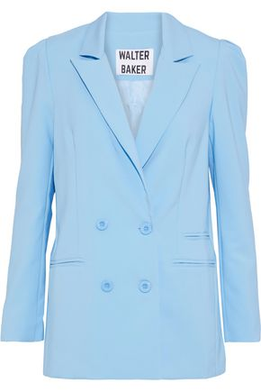 W118 by WALTER BAKER Ariel double-breasted crepe blazer