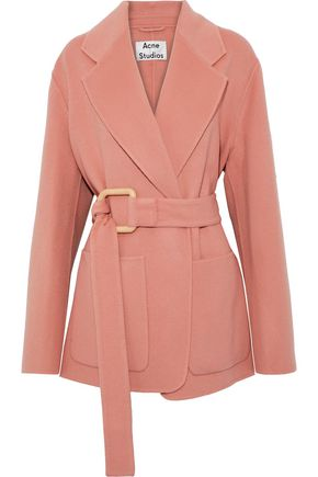 ACNE STUDIOS Lilo wool and cashmere-blend coat
