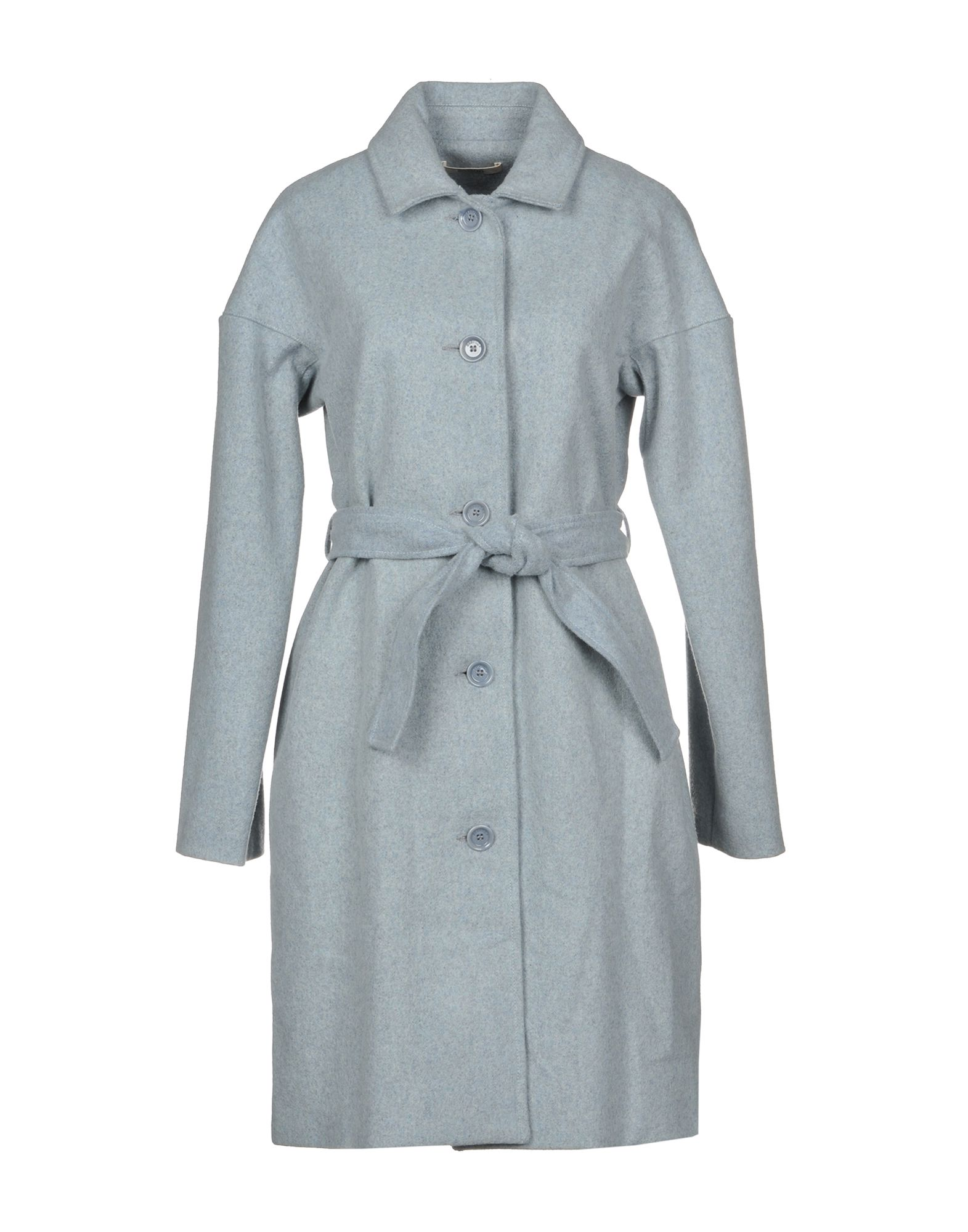 SESSUN Coat in Sky Blue
