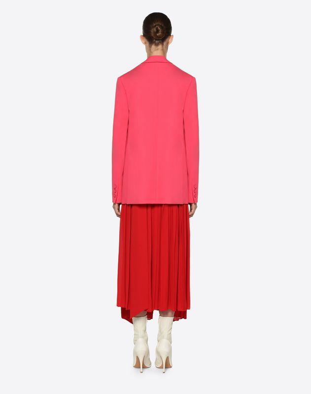 Silk Wool Cady Blazer