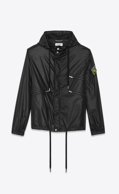 SAINT LAURENT Blousons Homme Windbreaker patch SL a_V4