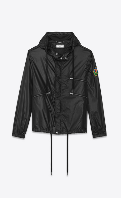 SAINT LAURENT Casual Jackets Man SL patch Windbreaker b_V4