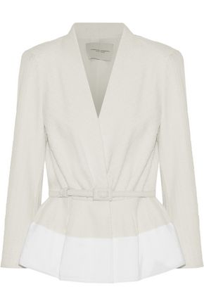 CAROLINA HERRERA Belted bouclé jacket