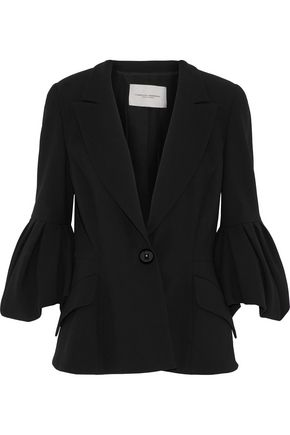 CAROLINA HERRERA Wool and cotton-blend blazer