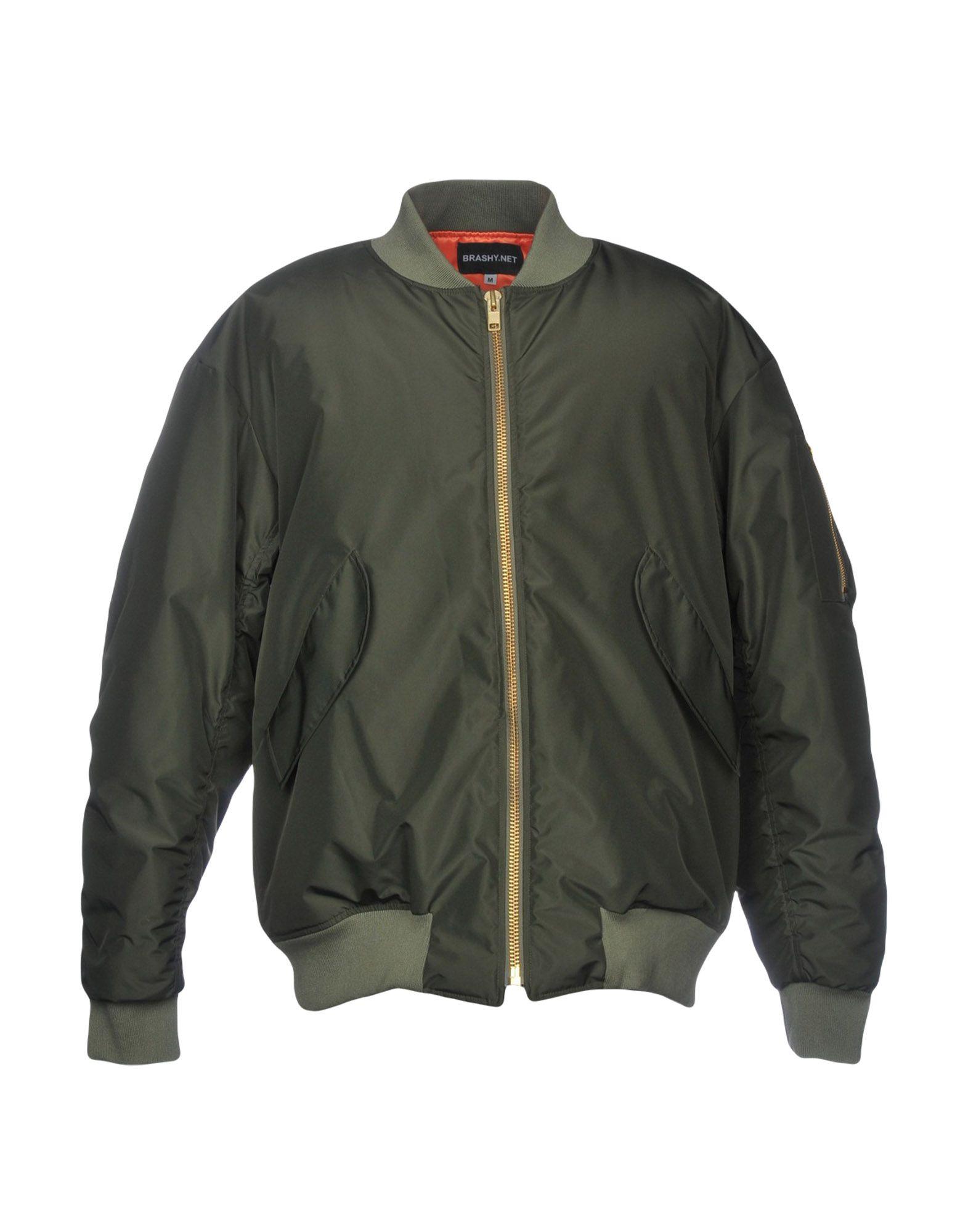 BRASHY Jackets in Military Green