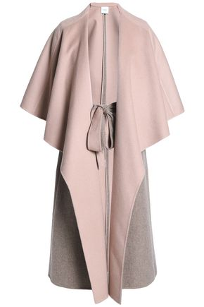 AGNONA Cape-effect cashmere coat
