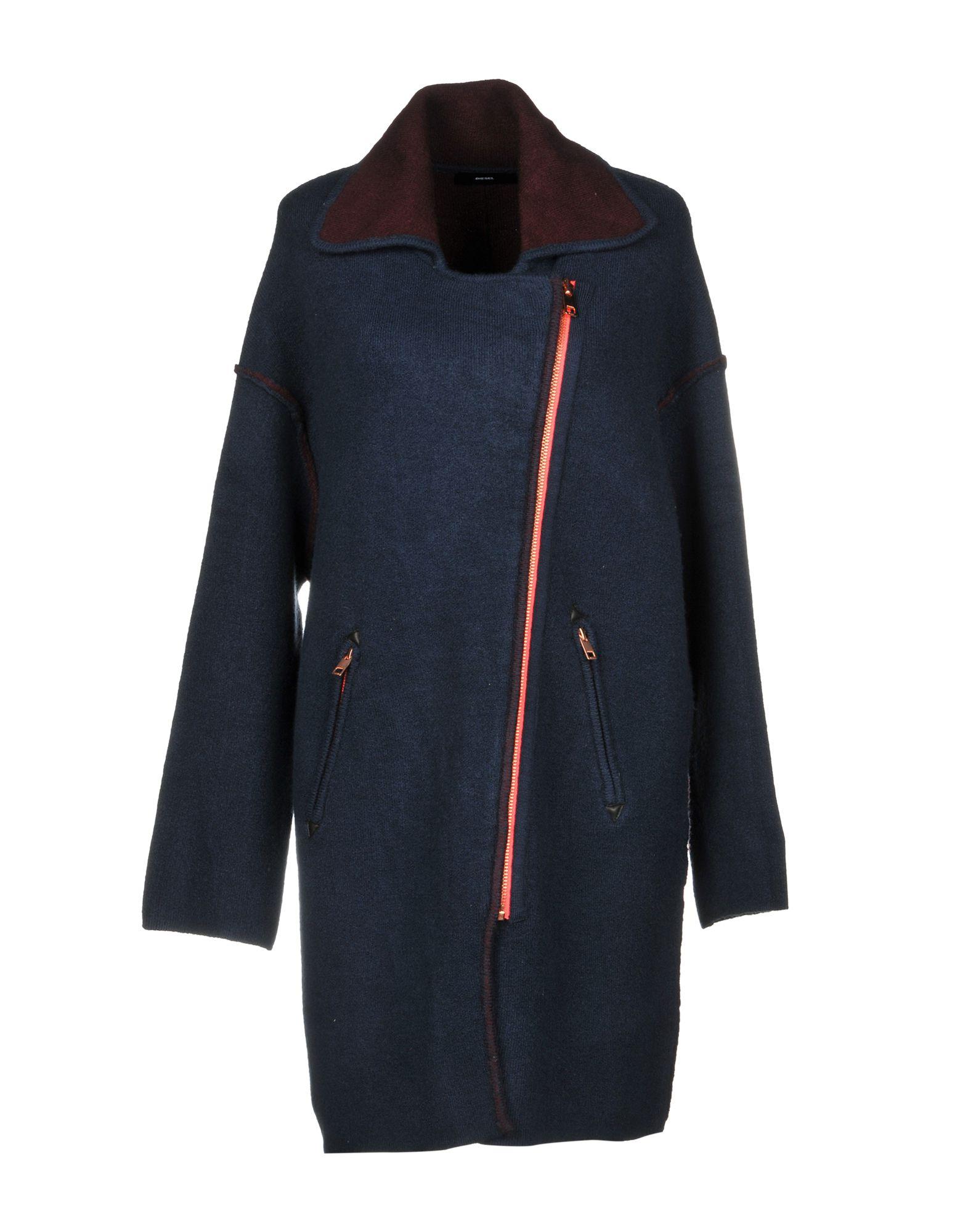 Full-Length Jacket in Dark Blue