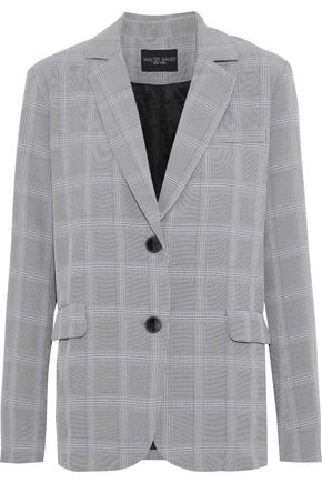 W118 by WALTER BAKER Andi Prince of Wales checked woven blazer