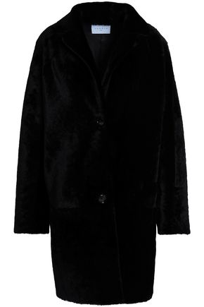 SANDRO Shearling coat