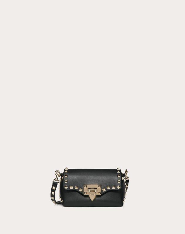 e3f752cacc1b Mini Rockstud Calfskin Crossbody Bag for Woman | Valentino Online ...