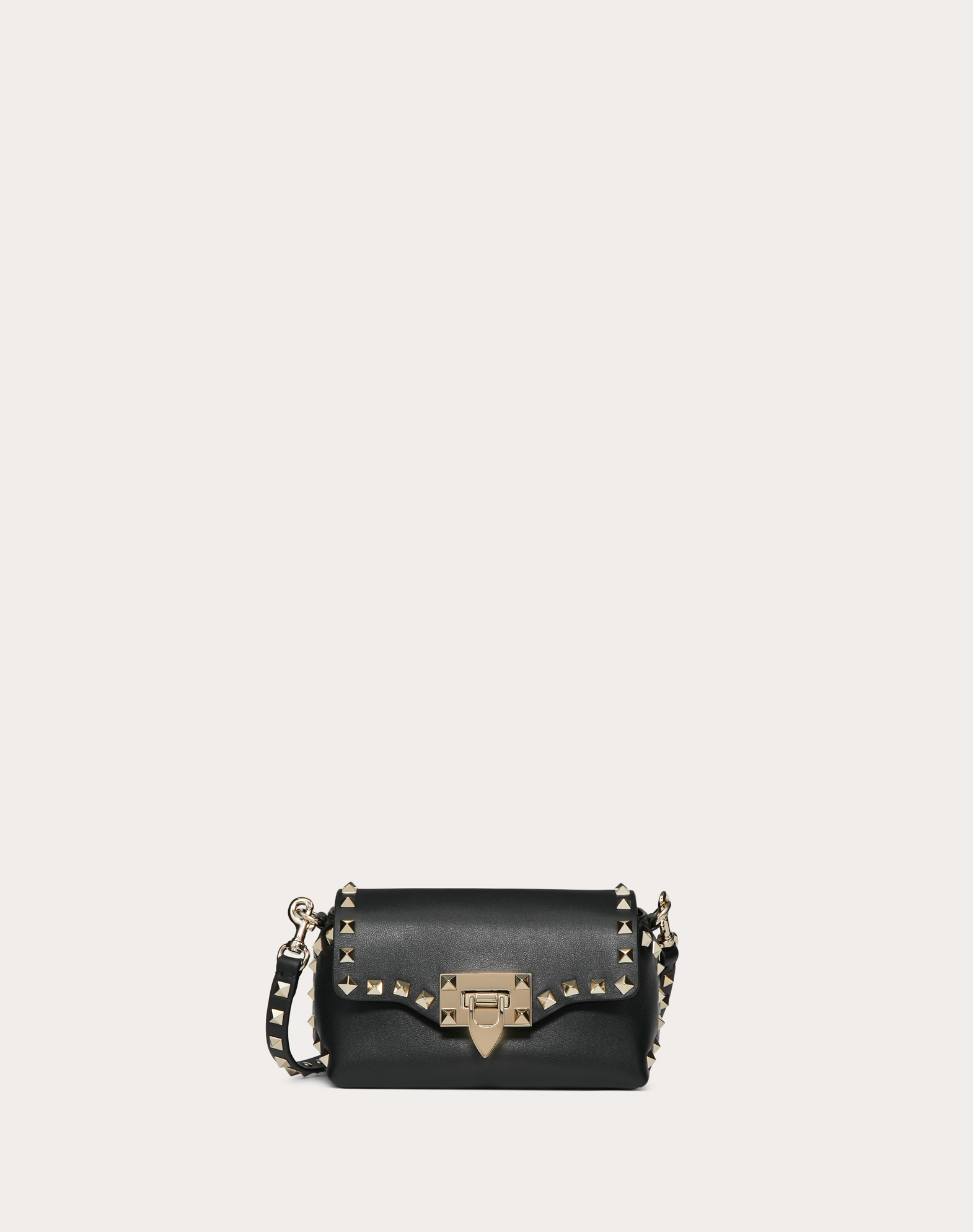 Mini Rockstud Calfskin Crossbody Bag