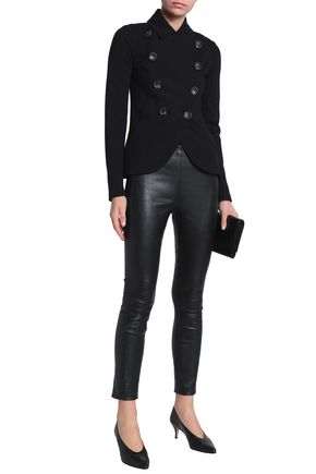BAILEY 44 Slim Slicker double-breasted stretch-knit jacket