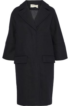 MARNI Cotton and wool-blend canvas jacket