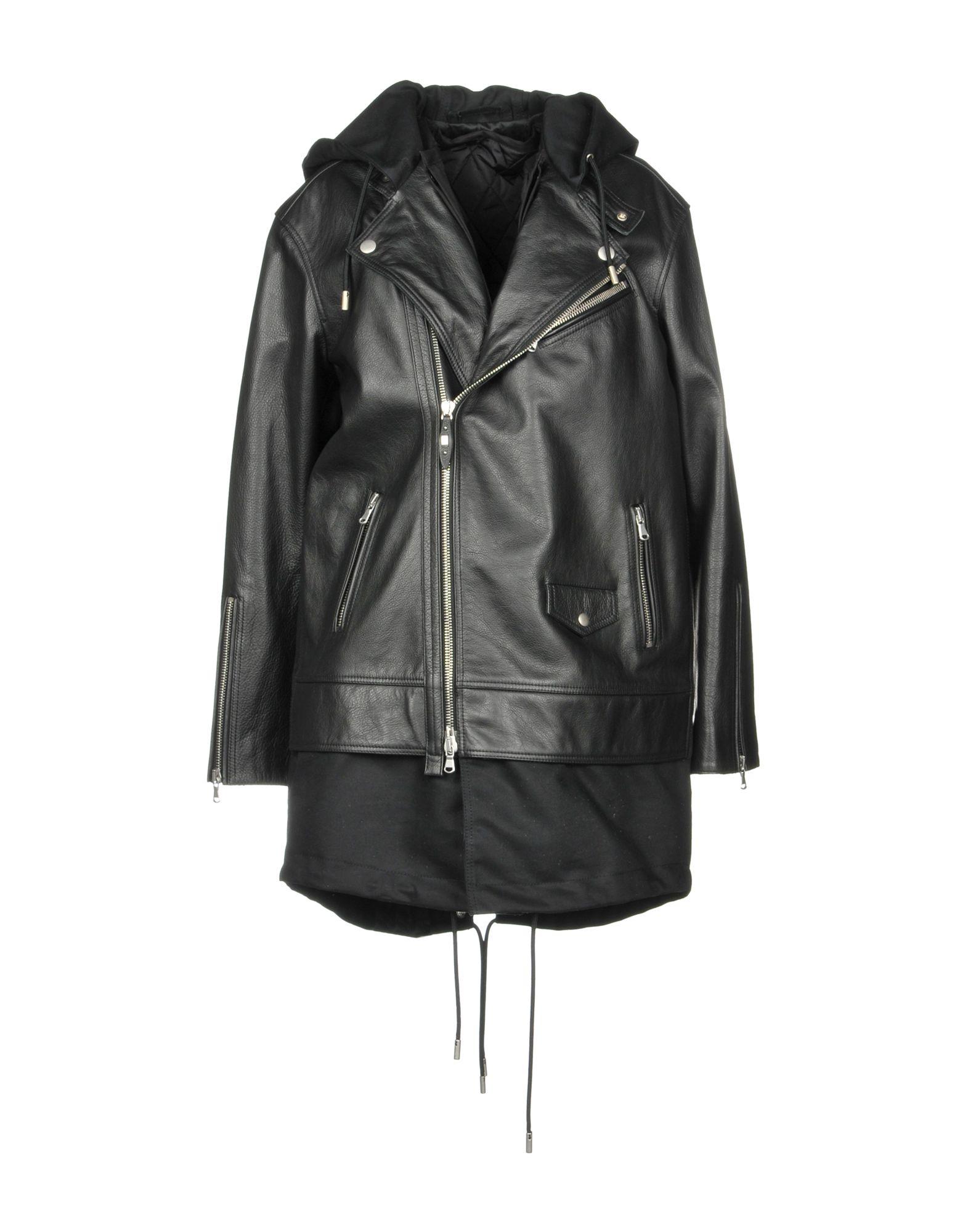 Full-Length Jacket in Black