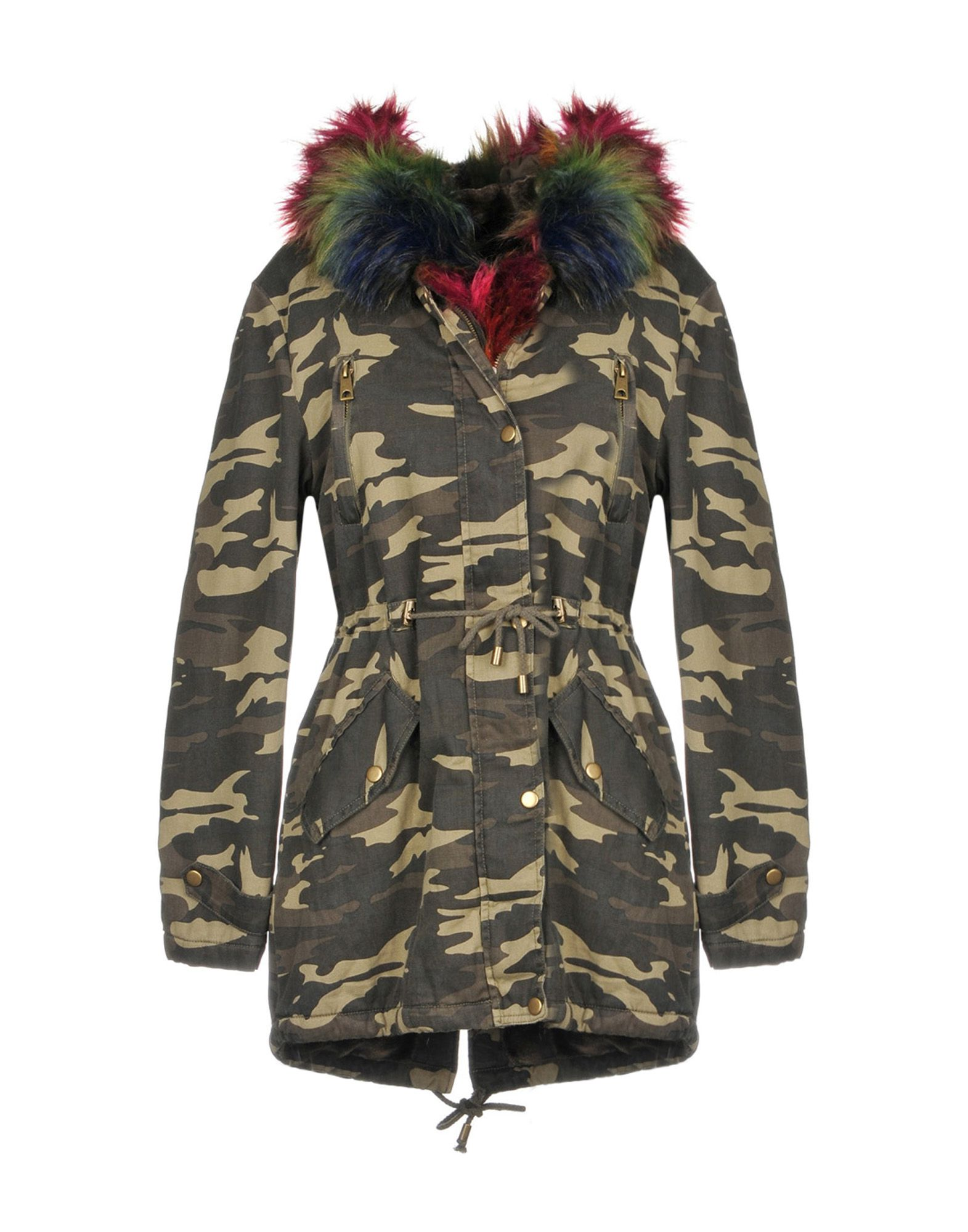 MOLLY BRACKEN Jacket in Military Green
