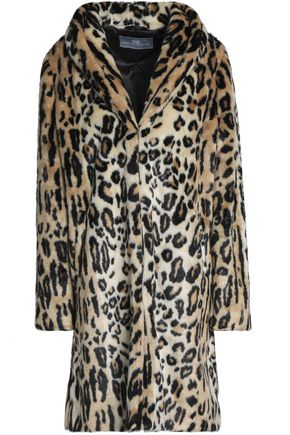 TART COLLECTIONS Leopard-print faux fur coat