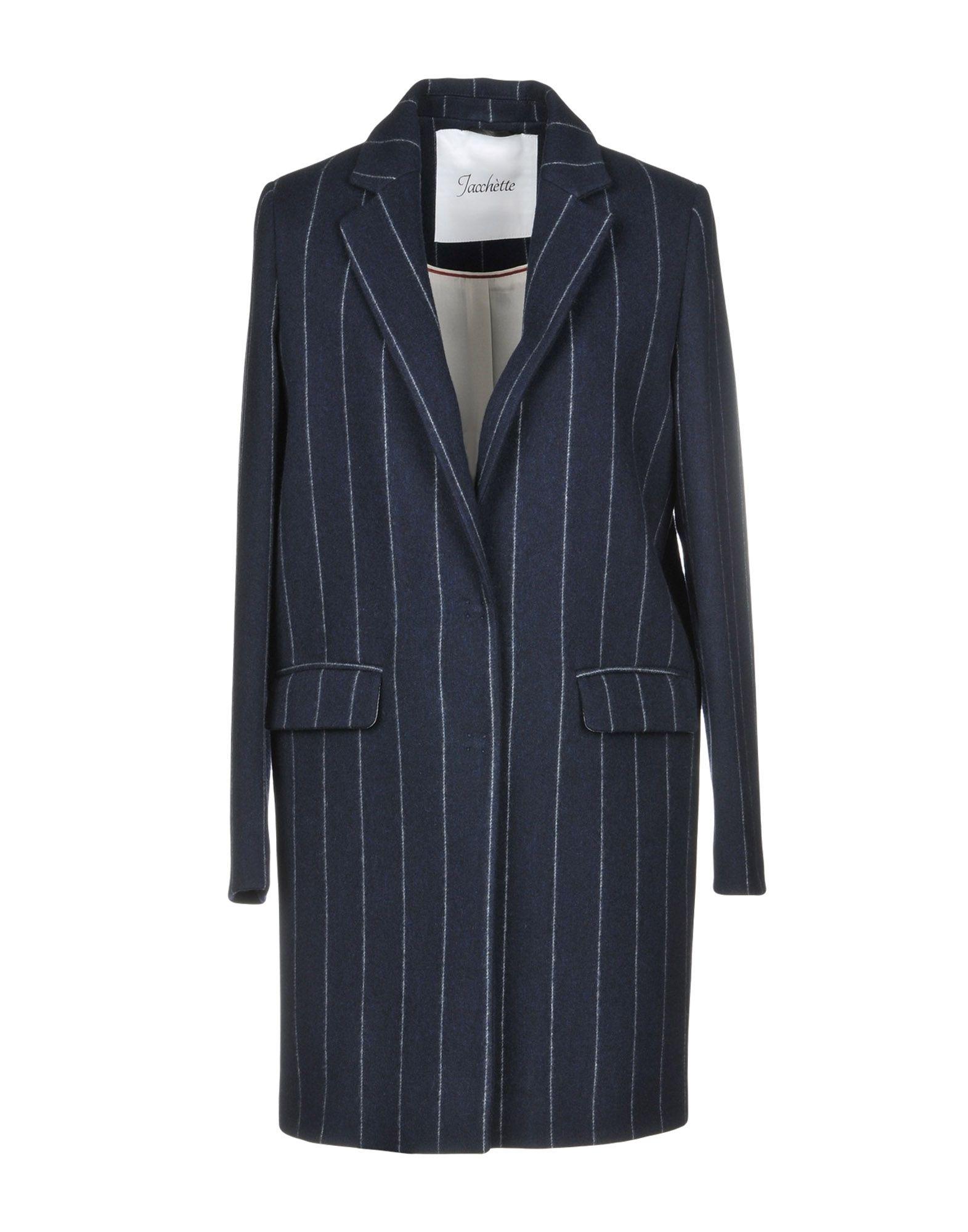 JACCHÈTTE Пальто 2016 осенью дамы сукно slim шерстяные пальто в длинные пальто