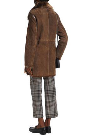 METEO by YVES SALOMON Reversible goat hair jacket