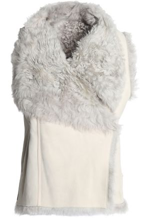 YVES SALOMON Reversible shearling gilet