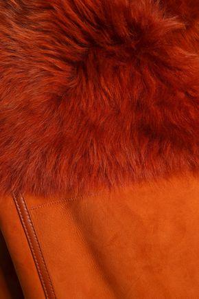 METEO by YVES SALOMON Shearling vest