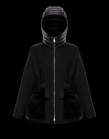 Moncler View all Outerwear Woman: ANGLEFUR